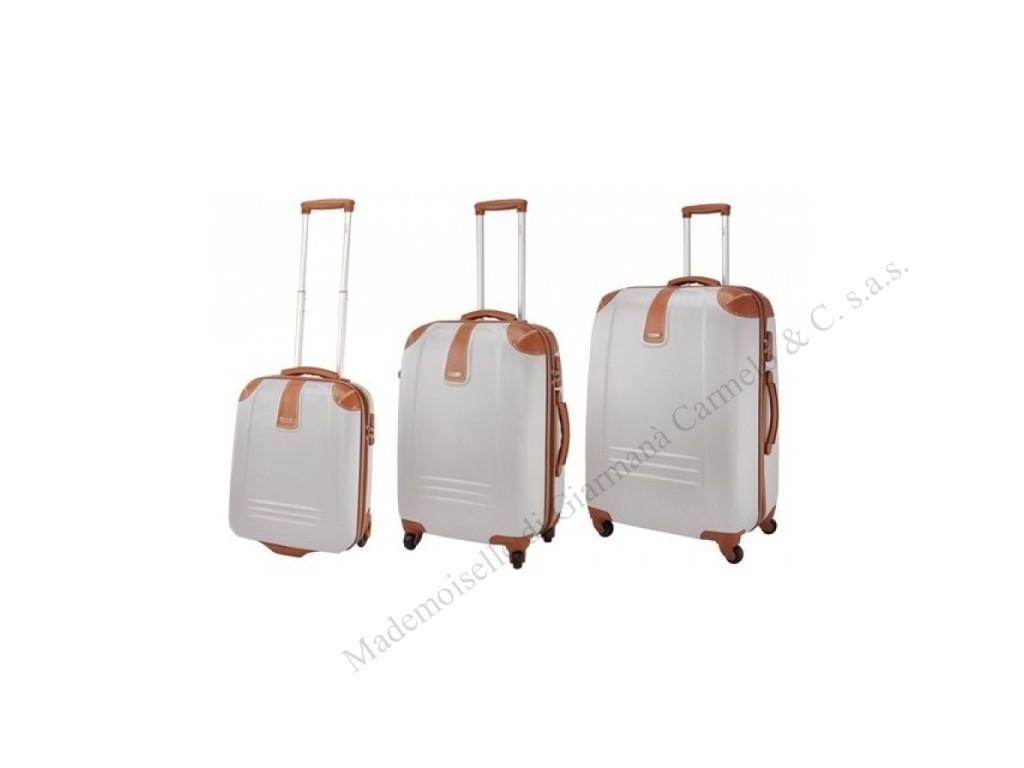 SET  3 TROLLEY IN ABS - DIELLE