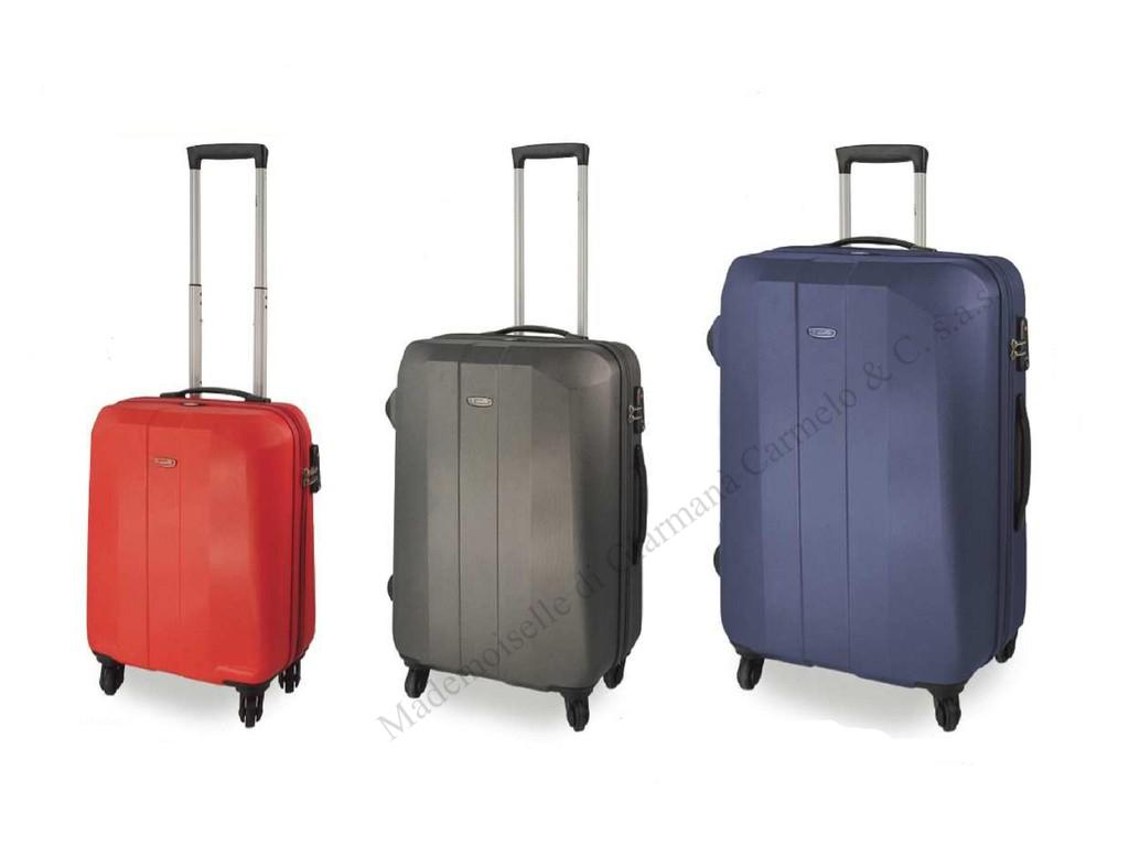 SET 3 TROLLEY IN ABS ULTRALEGGERO - DIELLE